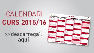 Calendari Curs 2015-2016